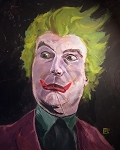 JOKER 16x20 ORIGINAL PAINTING