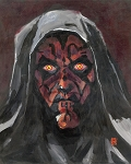 DARTH MAUL 16x20 ORIGINAL PAINTING